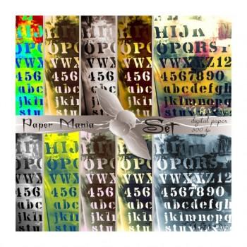 Файл за изтегляне 10 дизайна  Букви