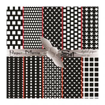 Файл за изтегляне 10 дизайна в черно-бяло