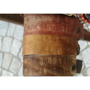 Гривна кожена с GPS или текст щампа