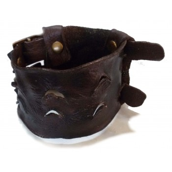 Leather bracelet ART