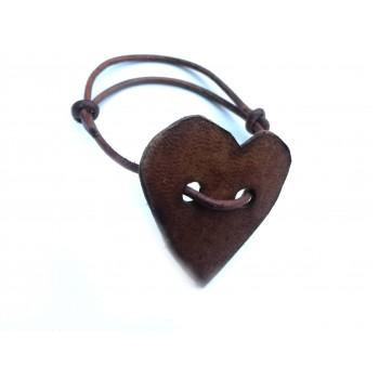 Leather bracelet HEART