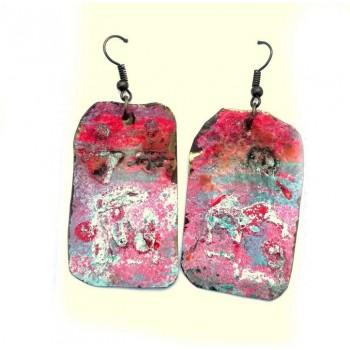 ОБЕЦИ Емайл върху метал Пастелно розово -1