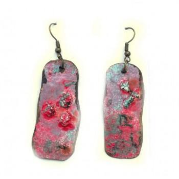 ОБЕЦИ Емайл върху метал Пастелно розово -2